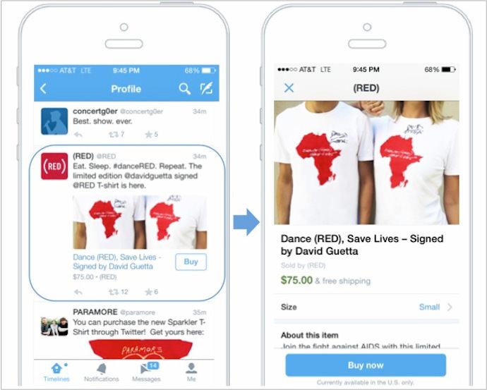 TwitterのEコマース化