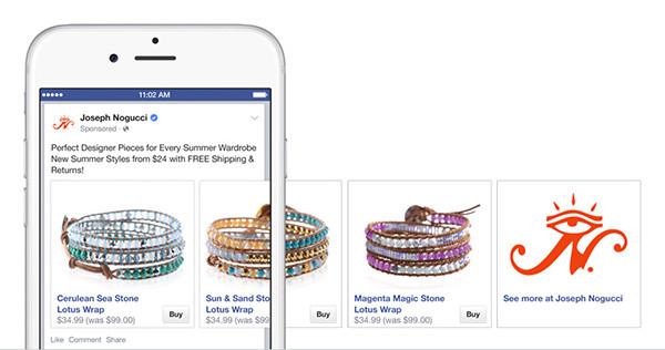 FacebookのEコマース化