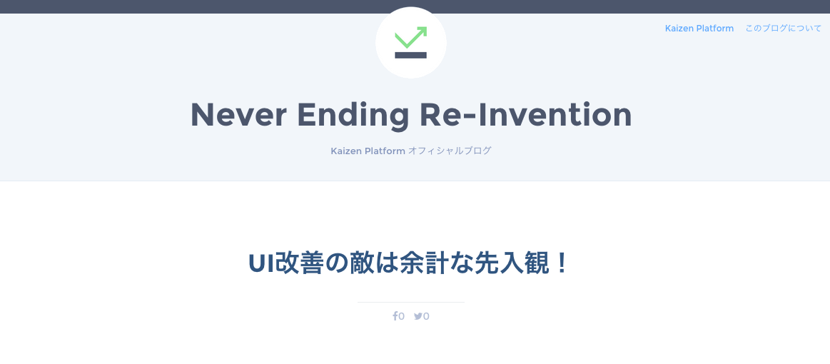 Never Ending Re-Invention