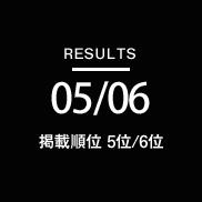 RESULTS0506-掲載順位5位/6位